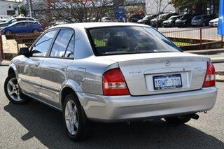 2003 Mazda 323 BJ II-J48 Protege Shades Silver 5 Speed Manual Sedan.