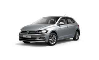 2021 Volkswagen Polo AW MY21 85TSI DSG Comfortline Silver 7 Speed Sports Automatic Dual Clutch.