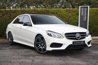 2016 Mercedes-Benz E-Class W212 806MY E250 CDI 7G-Tronic + Polar White 7 Speed Sports Automatic.