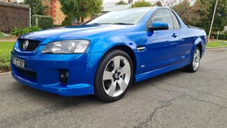 2008 Holden Commodore VE MY09.5 SS-V Voodoo Blue 6 Speed Automatic Utility