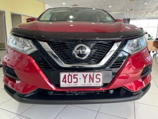 2018 Nissan Qashqai J11 Series 2 ST X-tronic Red 1 Speed Constant Variable Wagon