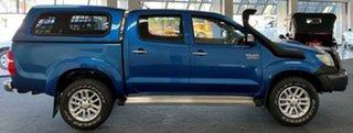 2012 Toyota Hilux KUN26R MY12 SR5 Double Cab Blue 5 Speed Manual Utility.