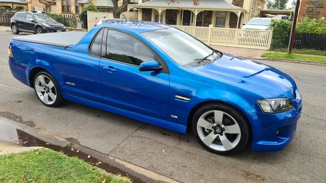 Used Holden Commodore VE MY09.5 SS-V Prospect, 2008 Holden Commodore VE MY09.5 SS-V Voodoo Blue 6 Speed Automatic Utility
