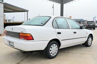 1996 Toyota Corolla AE101R CSi White 4 Speed Automatic Sedan
