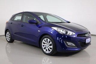 2013 Hyundai i30 GD Active Blue 6 Speed Automatic Hatchback.