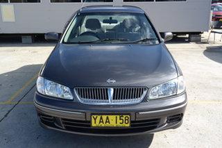 2001 Nissan Pulsar N16 TI Grey 4 Speed Automatic Sedan.