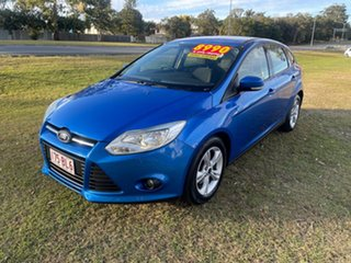 2012 Ford Focus LW MkII Trend PwrShift Blue 6 Speed Sports Automatic Dual Clutch Hatchback.