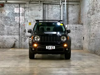 2016 Jeep Renegade BU MY16 Trailhawk AWD Black 9 Speed Sports Automatic Hatchback.
