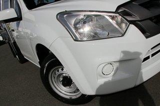 2019 Isuzu D-MAX MY19 SX 4x2 Splash White 6 Speed Manual Cab Chassis.