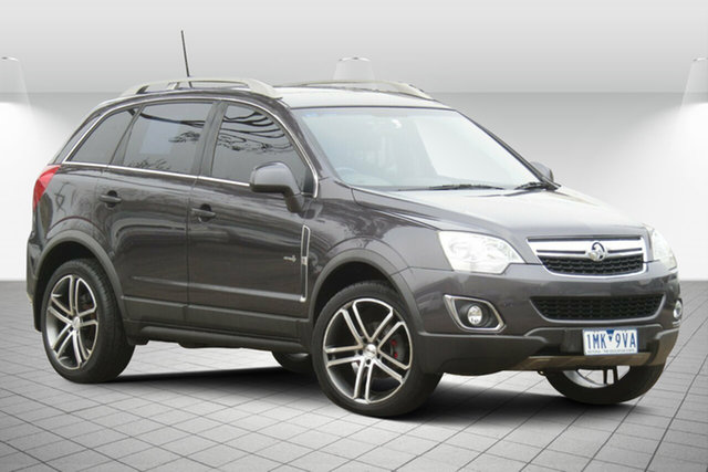 Used Holden Captiva CG Series II MY12 5 Oakleigh South, 2012 Holden Captiva CG Series II MY12 5 Active Grey 6 Speed Sports Automatic Wagon