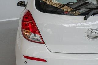 2014 Hyundai i20 PB MY15 Active White 4 Speed Automatic Hatchback