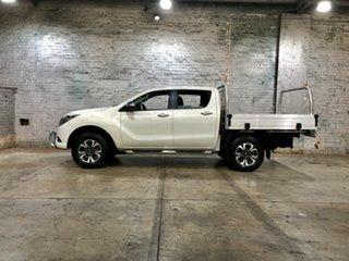 2016 Mazda BT-50 UR0YF1 GT White 6 Speed Sports Automatic Utility