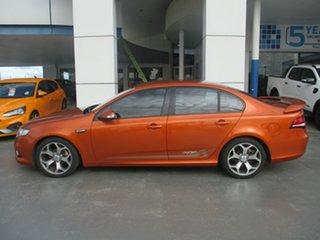 2010 Ford Falcon FG Upgrade XR6 50th Anniversary Orange 6 Speed Auto Seq Sportshift Sedan.