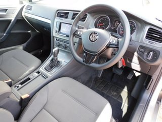 2012 Volkswagen Golf VII 90TSI DSG Comfortline Silver 7 Speed Sports Automatic Dual Clutch Hatchback.