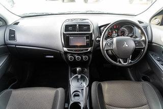 2015 Mitsubishi ASX XB MY15 LS 2WD Black 6 Speed Constant Variable Wagon