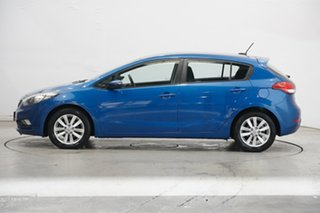 2014 Kia Cerato YD MY15 S Premium Blue 6 Speed Sports Automatic Hatchback.