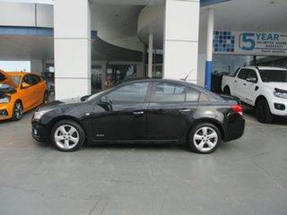 2011 Holden Cruze JH MY12 SRi V Black 6 Speed Automatic Sedan.