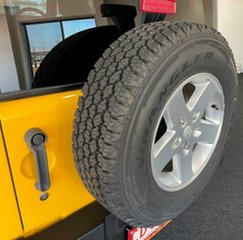 2015 Jeep Wrangler JK MY2016 Sport Yellow 5 Speed Automatic Softtop