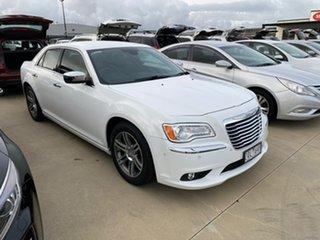 2013 Chrysler 300 LX MY13 C E-Shift Luxury White 8 Speed Sports Automatic Sedan