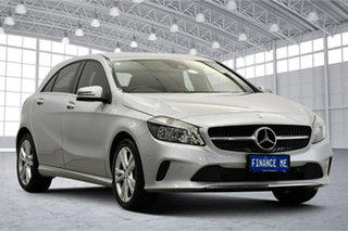 2017 Mercedes-Benz A-Class W176 807MY A180 D-CT Silver 7 Speed Sports Automatic Dual Clutch.