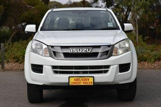 2012 Isuzu D-MAX MY12 SX Crew Cab 4x2 High Ride White 5 Speed Sports Automatic Utility.