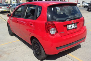 2008 Holden Barina TK MY09 Red 4 Speed Automatic Hatchback