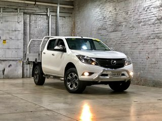 2016 Mazda BT-50 UR0YF1 GT White 6 Speed Sports Automatic Utility.