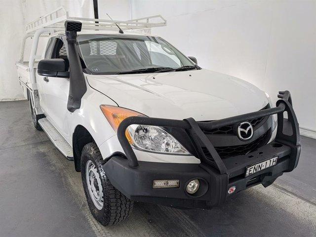 Used Mazda BT-50 UP0YF1 XT Freestyle Maryville, 2014 Mazda BT-50 UP0YF1 XT Freestyle White 6 Speed Manual Cab Chassis