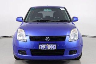 2007 Suzuki Swift EZ 07 Update S Blue 5 Speed Manual Hatchback.
