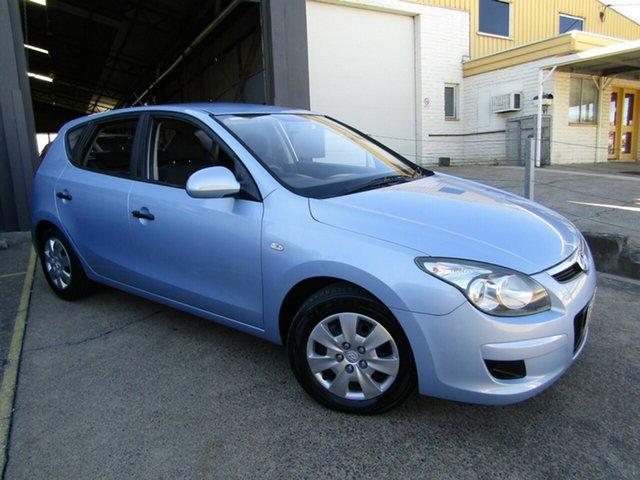 Used Hyundai i30 FD MY11 SX Moorooka, 2011 Hyundai i30 FD MY11 SX Blue 4 Speed Automatic Hatchback