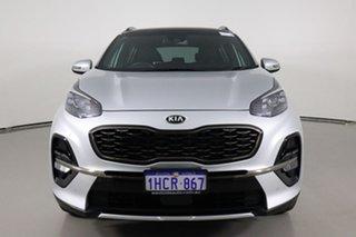 2019 Kia Sportage QL MY20 GT-Line (AWD) Silver 6 Speed Automatic Wagon.