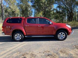 2016 Holden Colorado RG MY17 LTZ (4x4) Red 6 Speed Automatic Crew Cab Pickup.
