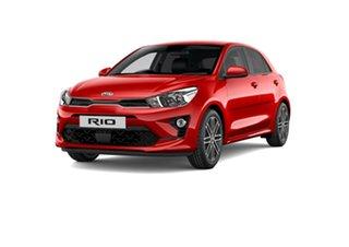 2021 Kia Rio YB MY21 SX Signal Red 6 Speed Automatic Hatchback