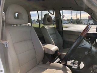 2004 Mitsubishi Pajero NP Exceed White 5 Speed Sports Automatic Wagon