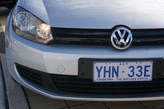 2011 Volkswagen Golf VI MY11 90TSI DSG Trendline Reflex Silver 7 Speed Sports Automatic Dual Clutch