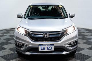 2015 Honda CR-V 30 Series 2 VTi LE (4x4) Silver 5 Speed Automatic Wagon.
