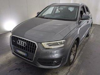 2012 Audi Q3 8U MY12 TDI S Tronic Quattro Grey 7 Speed Sports Automatic Dual Clutch Wagon.