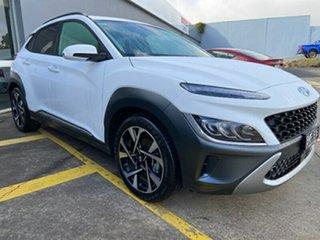 2020 Hyundai Kona OS.3 MY20 Highlander 2WD Atlas White 6 Speed Sports Automatic Wagon.