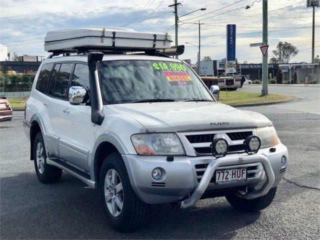 Used Mitsubishi Pajero NP Exceed Archerfield, 2004 Mitsubishi Pajero NP Exceed White 5 Speed Sports Automatic Wagon