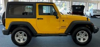 2015 Jeep Wrangler JK MY2016 Sport Yellow 5 Speed Automatic Softtop.