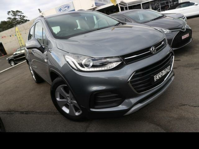 Used Holden Trax TJ MY20 LS Kingswood, 2020 Holden Trax TJ MY20 LS Grey 6 Speed Automatic Wagon