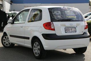 2010 Hyundai Getz TB MY09 S Noble White 4 Speed Automatic Hatchback.