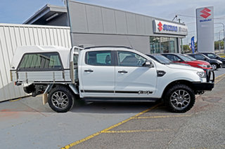2017 Ford Ranger PX MkII FX4 Double Cab White 6 Speed Sports Automatic Utility