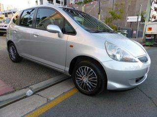 2006 Honda Jazz Upgrade VTi Silver 7 Speed CVT Auto Sequential Hatchback.