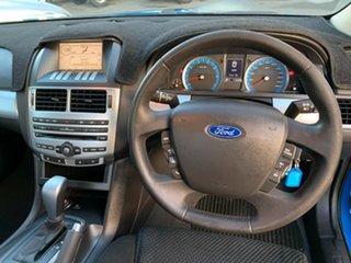 2009 Ford Falcon FG XR6 Ute Super Cab Blue 5 Speed Sports Automatic Utility