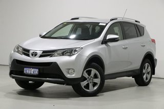 2015 Toyota RAV4 ZSA42R MY14 Upgrade GXL (2WD) Silver Continuous Variable Wagon.