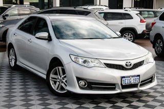 2013 Toyota Camry ASV50R Atara R Silver 6 Speed Sports Automatic Sedan.