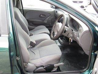 2002 Ford Falcon AU III XL Ute Super Cab Aintree Green 4 Speed Automatic Utility