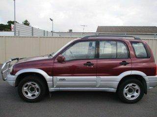 1999 Suzuki Grand Vitara SQ625 Type1 Burgundy 5 Speed Manual Wagon.