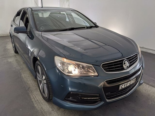 Used Holden Commodore VF MY14 SV6 Maryville, 2013 Holden Commodore VF MY14 SV6 Grey 6 Speed Sports Automatic Sedan